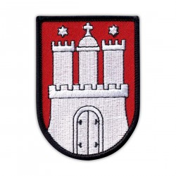 The coat of arms of Hamburg