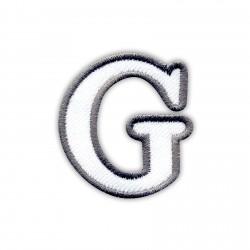 Letter G - white
