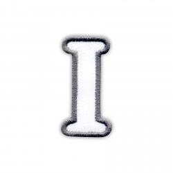 Letter I - white
