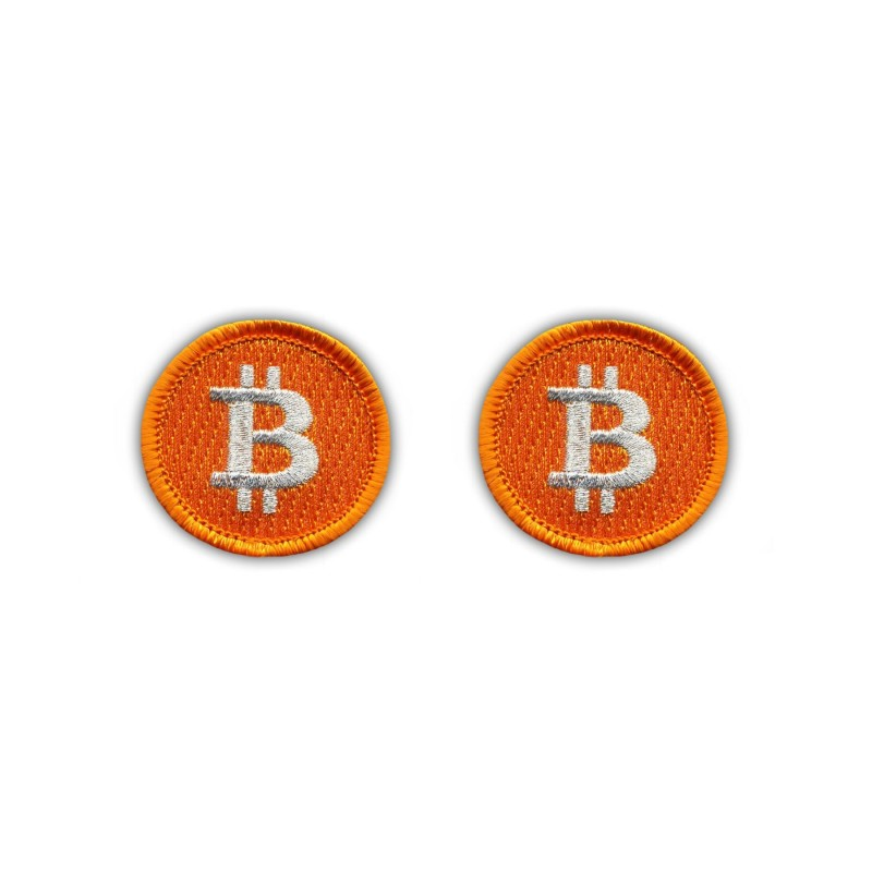 Bitcoin - Set Of 2 - small (3.8 cm)