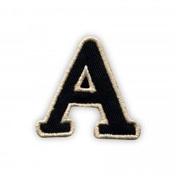 Letter A - black
