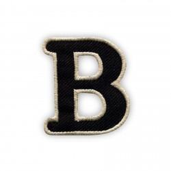 Letter B - black