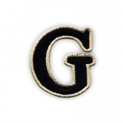 Letter G - black