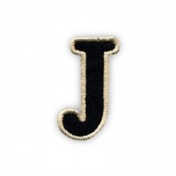 Letter J - black