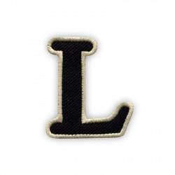 Letter L - black
