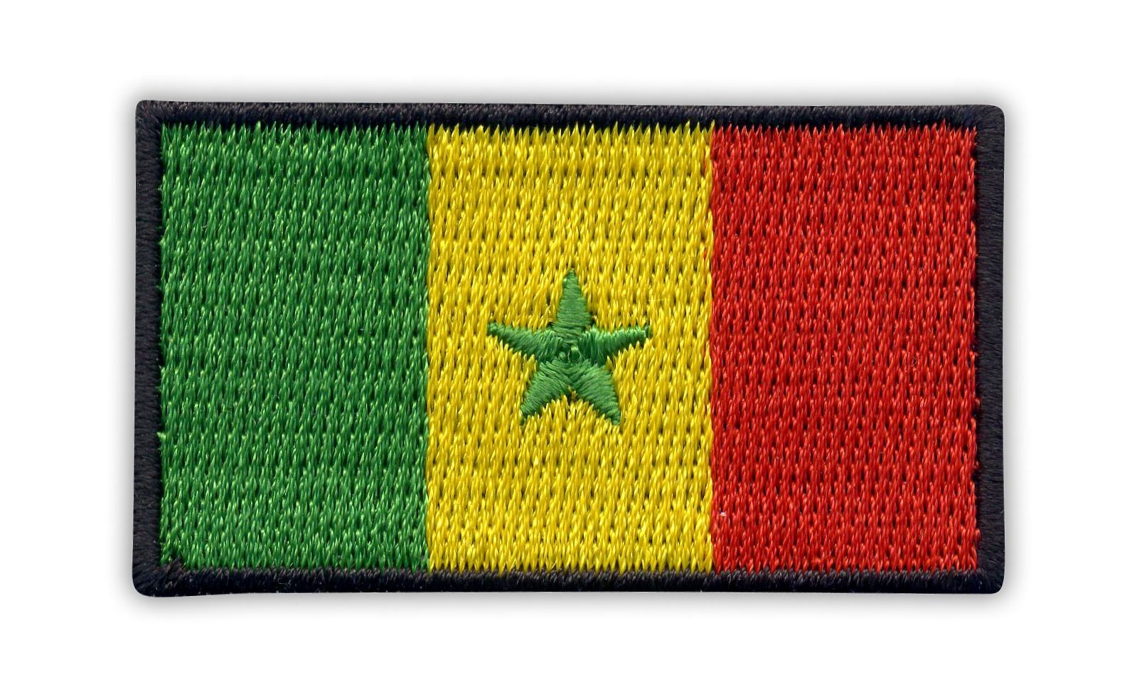 SENEGAL Country Flag Embroidered PATCH