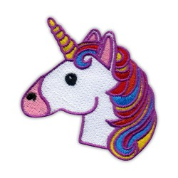 Rainbow Unicorn - head