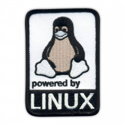 Powered by Linux - Black and White