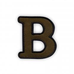 Letter B - olive