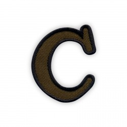 Letter C - olive
