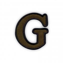Letter G - olive