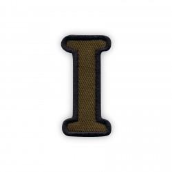 Letter I - olive
