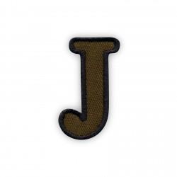 Letter J - olive