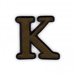 Letter K - olive
