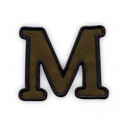 Letter M - olive