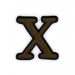 Letter X - olive