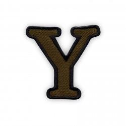 Letter Y - olive