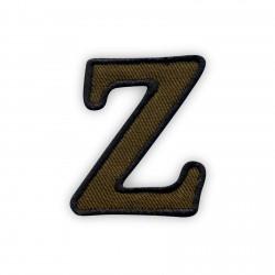 Letter Z - olive