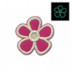 Flower creamy (fluorescent thread)