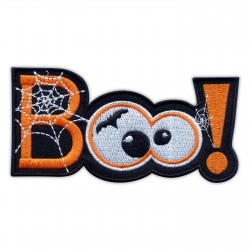 Scary patch - BOO! Halloween