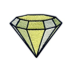 Diamond, sparkler - yellow