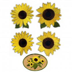 Sunflowers - a set of patches