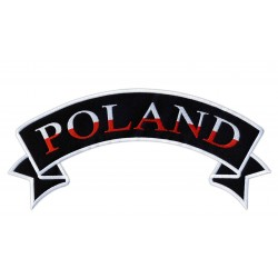 Poland white-red - rocker patch
