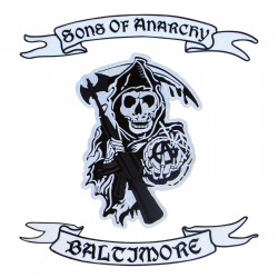 Sons of Anarchy - logo and upper rocker