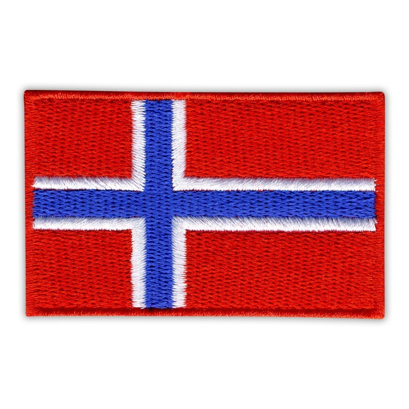 Flag of Norway (red edge)