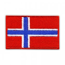 Flag of Norway - small (red edge)