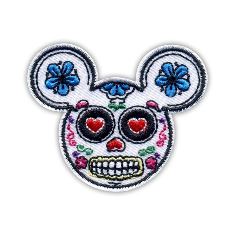 Mickey Mouse skull muerte