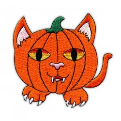 Orange Pumpkin Cat