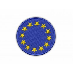 Round European Union Flag