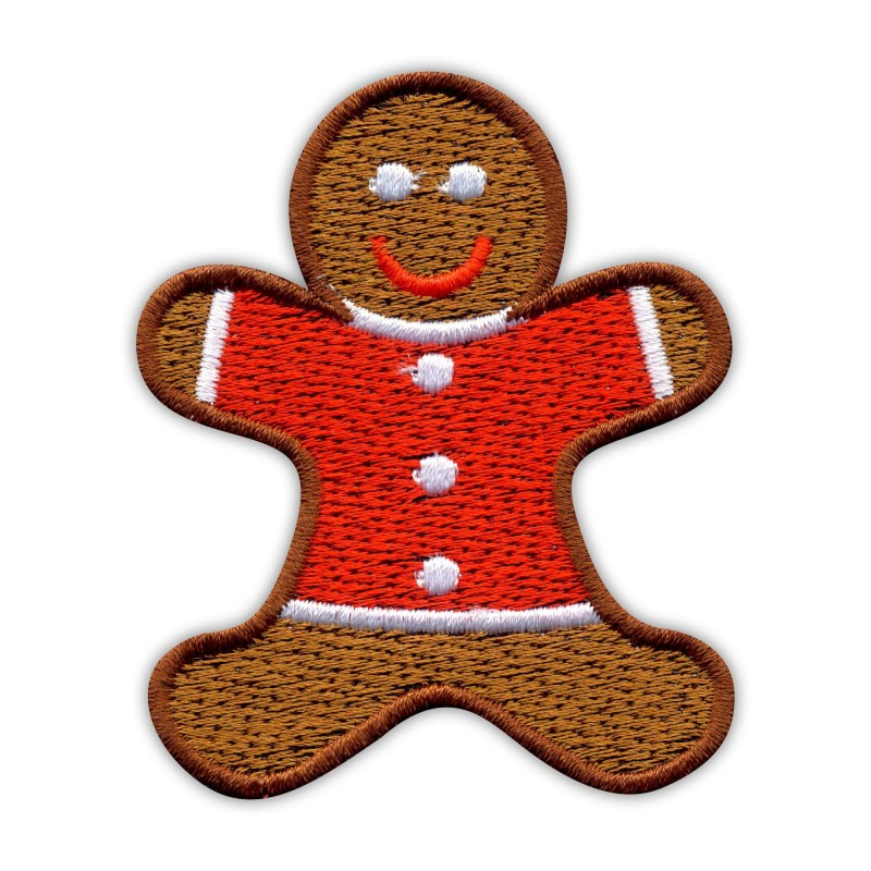 Gingerbread in red shirt