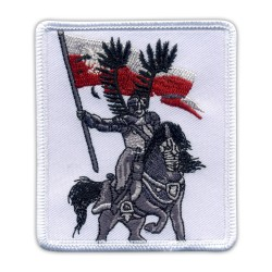 Polish hussars knight & horse
