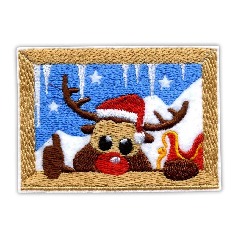 Reindeer in the window