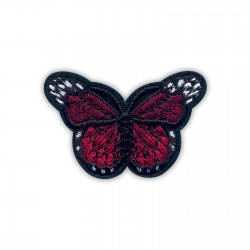 Little dark red butterfly
