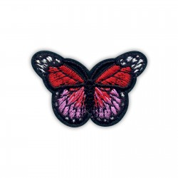 Little red and pink butterfly