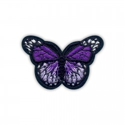 Little purple butterfly