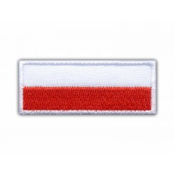 Flag of Poland - 5.0 x 2.0 cm