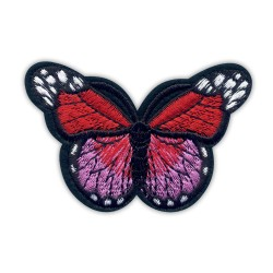 Butterfly red and pink big