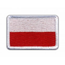 Flag of Poland - merrow white
