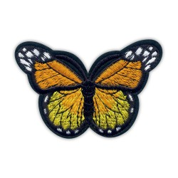 Butterfly orange and yellow big