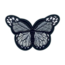 Butterfly gray big