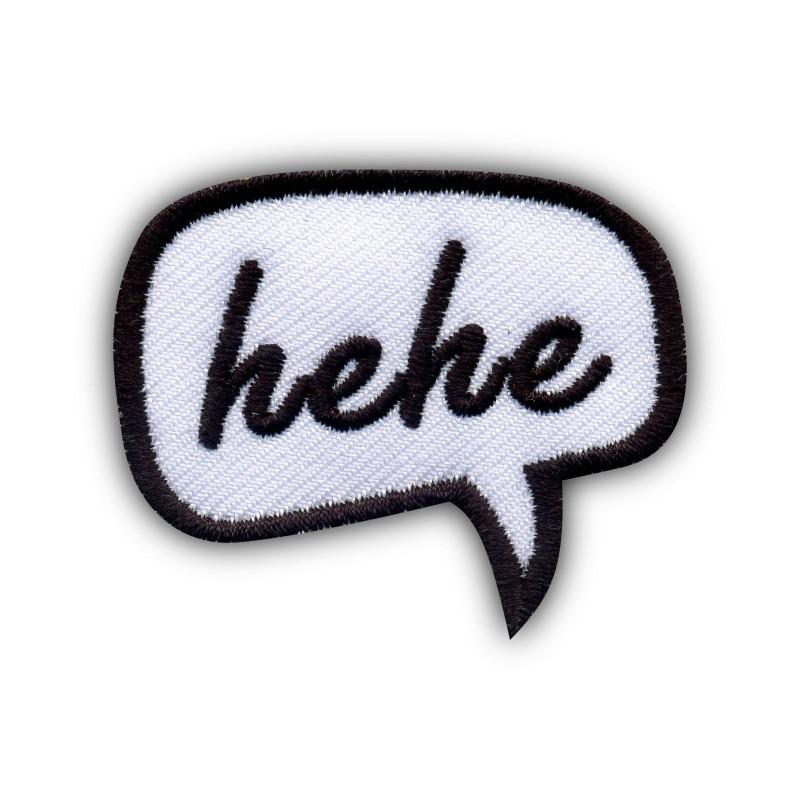 Speech Bubble - hehe
