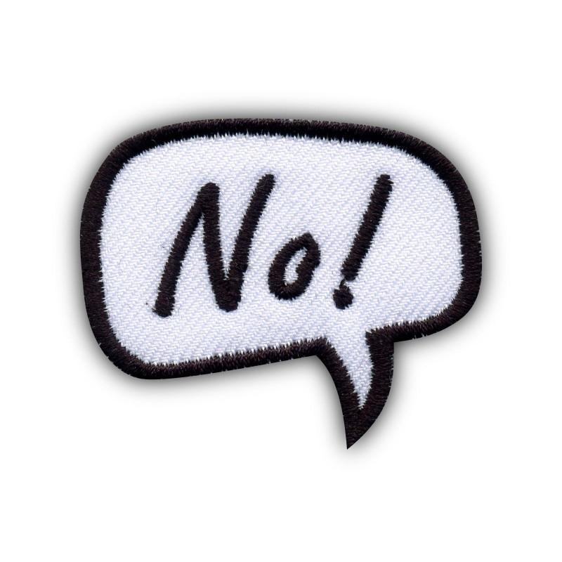 Speech Bubble - No!