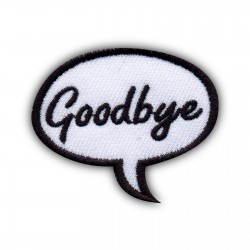 Speech Bubble - Goodbye