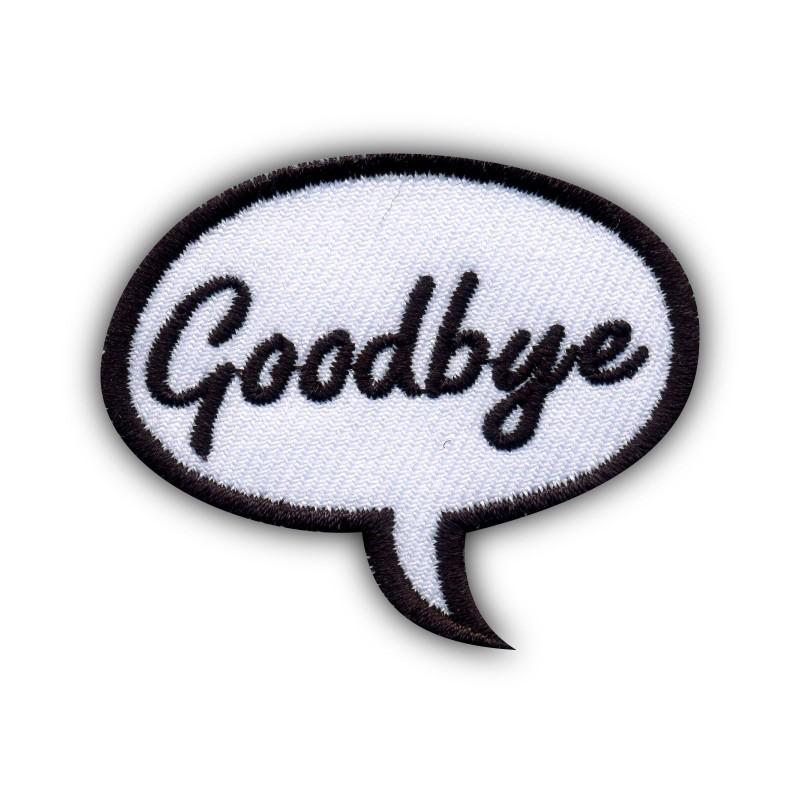 Speech Bubble - Goodbye