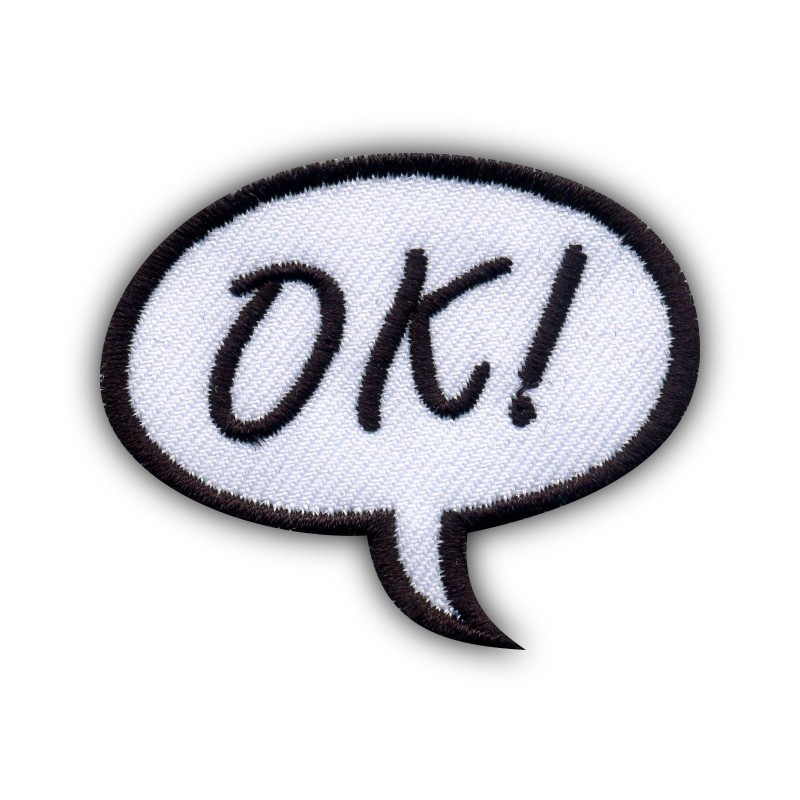 Speech Bubble - OK!