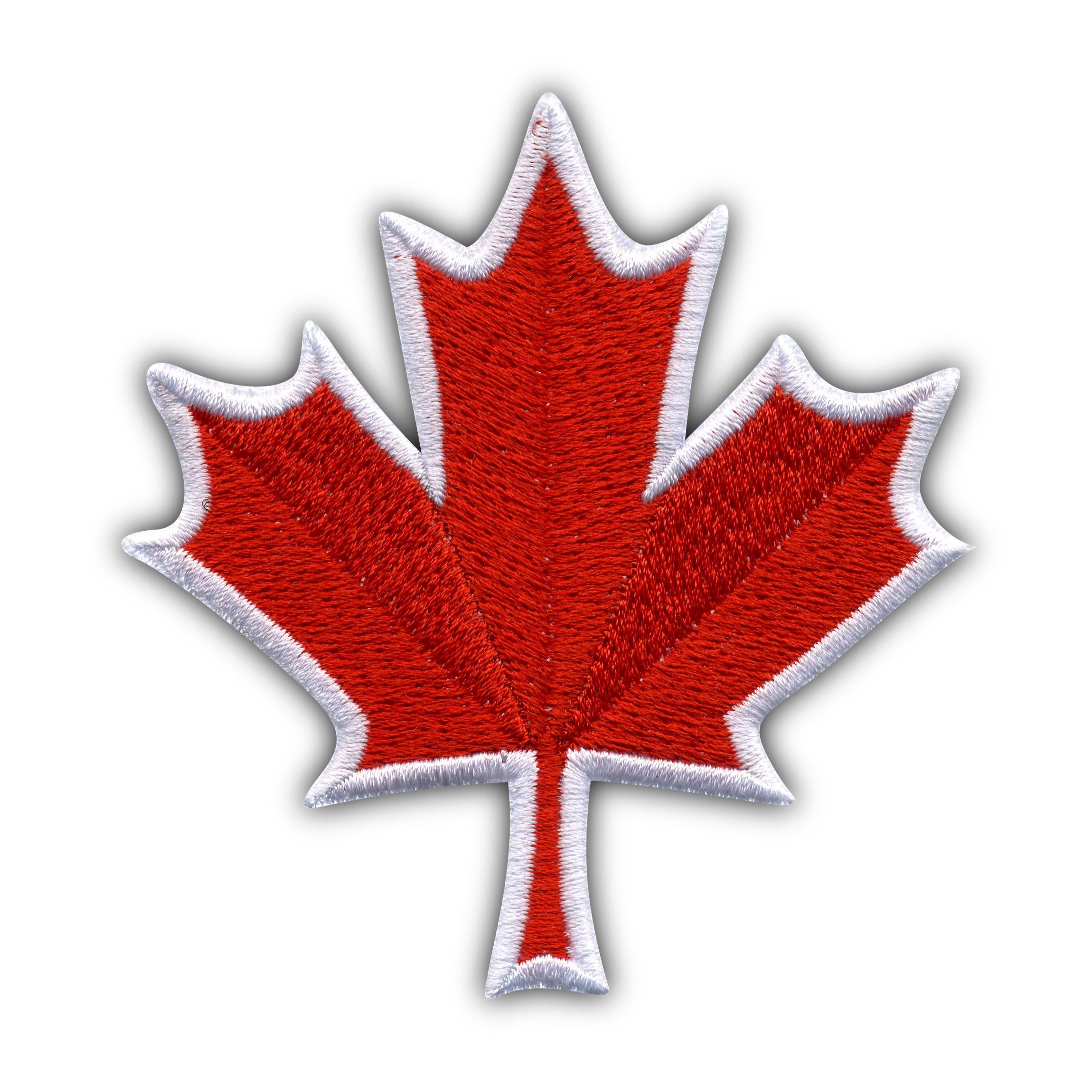 Canadian Maple Leaf Embroidered Patch Badge